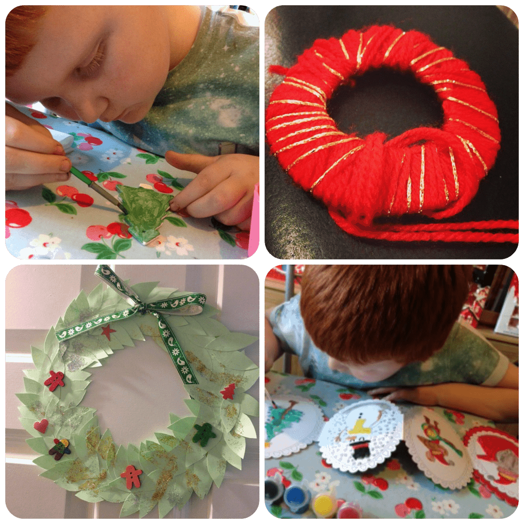 more Christmas crafts
