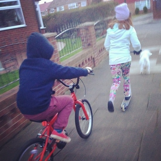 Out for a bike ride together