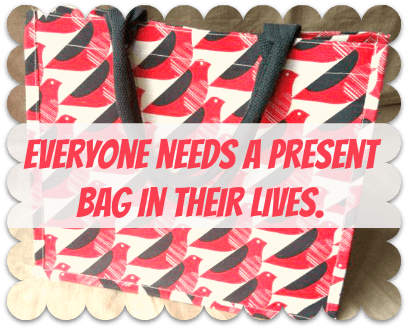 orla kiely present bag