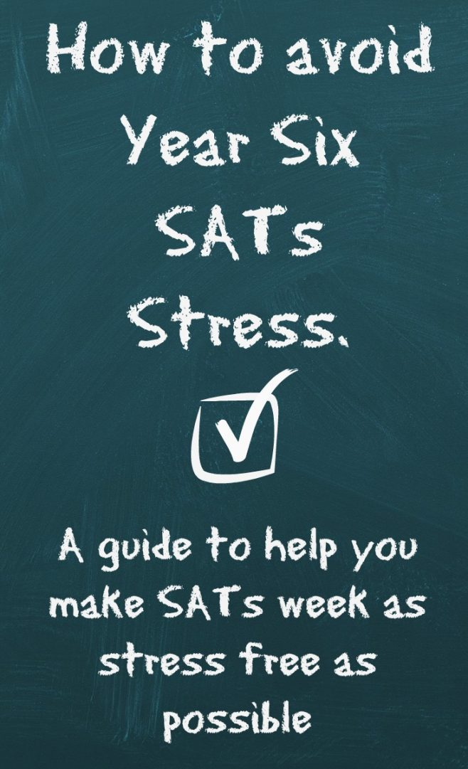 How to avoid year six sats stress