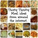 Thirty Thrifty Family Meals from around the web….
