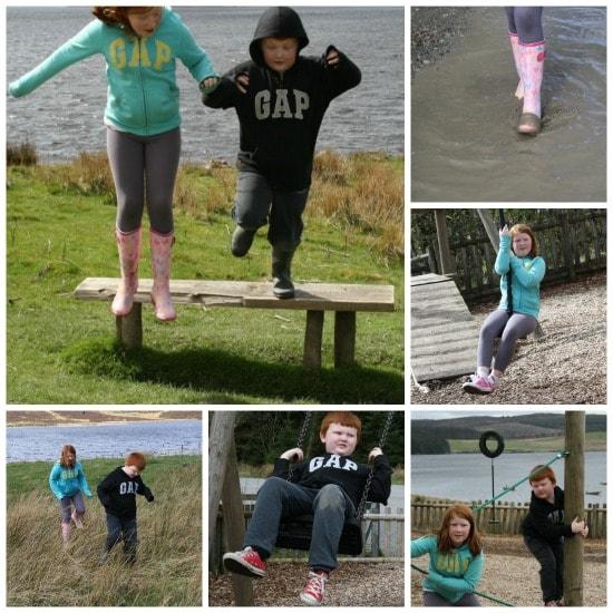 Fun at Llyn Brenig