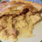 chicken and ham pie icon