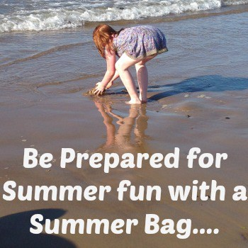 Be prepared for Summer fun with a Summer bag