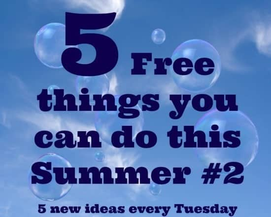 5 free things you can do this Summer #2