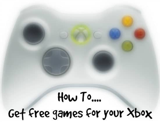 Free games for your xbox