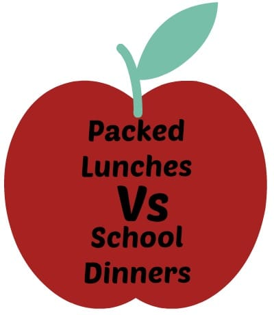Packed lunch vs school dinners