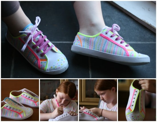 customising shoes