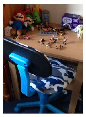 Budget desk area