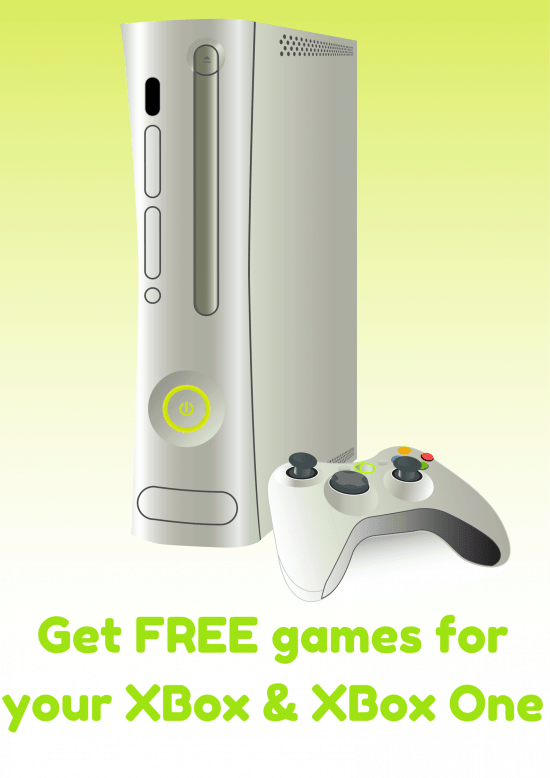 Get free games for your XBox & XBox One
