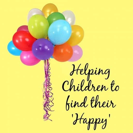 Helping your children to find their happy