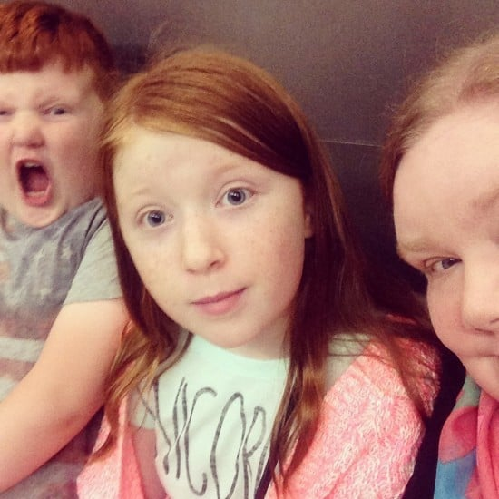 Family #Selfie gone wrong