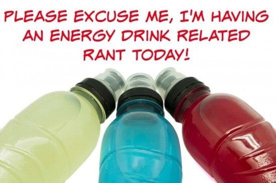 Energy drinks for children