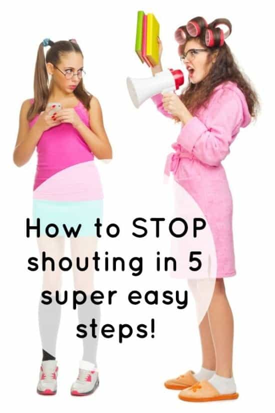 How to STOP shouting in 5 super easy steps!