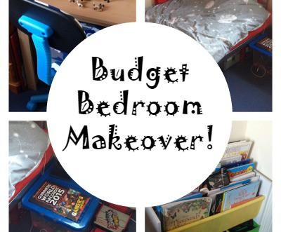 bedget bedroom makeover