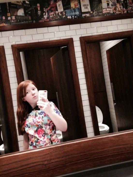 Bethan selfie