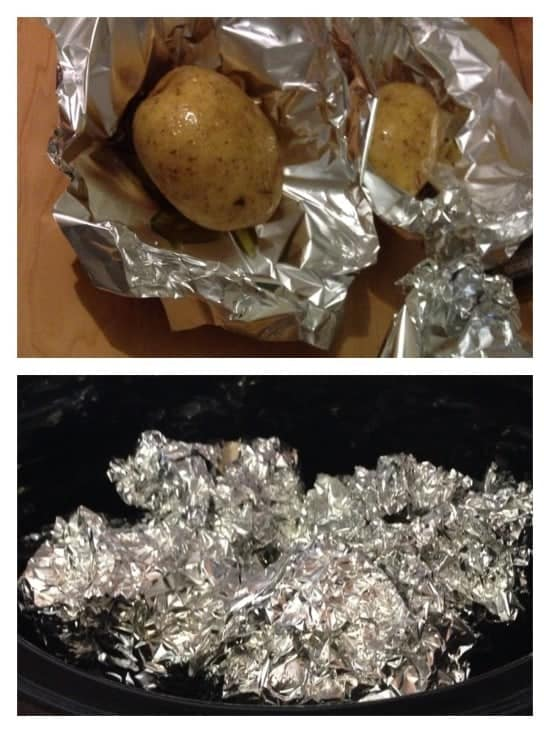 Slow Cooker Jacket Potatoes - Super easy to make and really delicious!