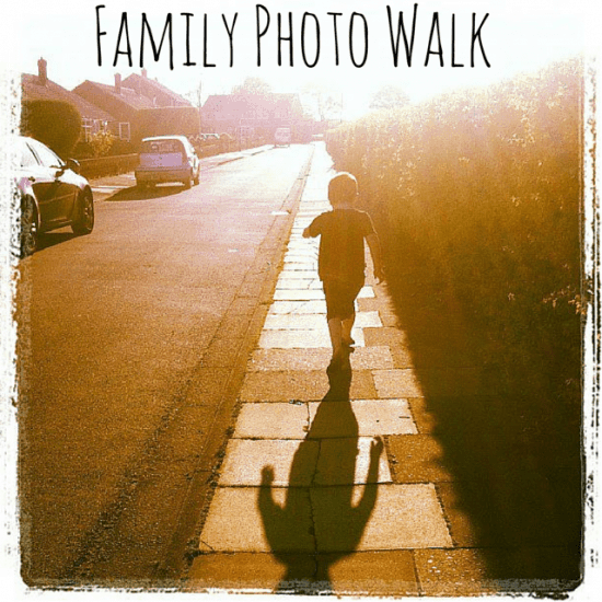 family photo walk