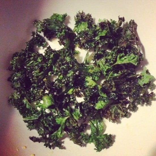 curly kale crisps