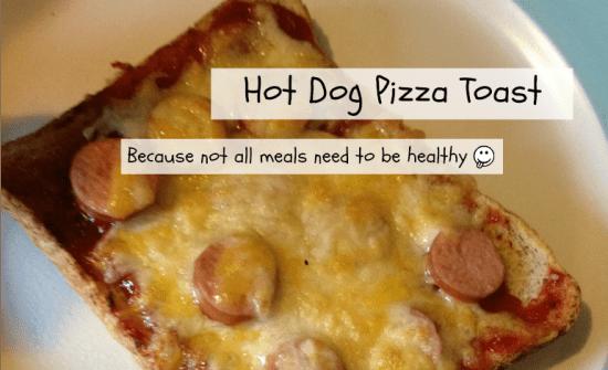 hot dog pizza toast