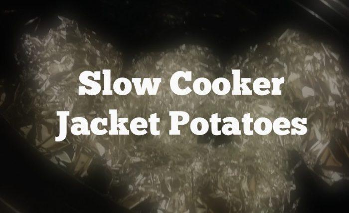 slow cooker jacket potatoes