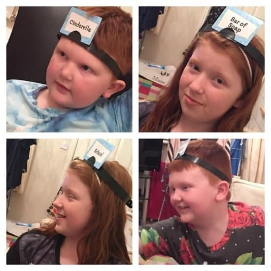 Anyone who follows me on Instagram will know just how much we've been playing Headbandz recently.  We were sent iby House of Fraser and it's fast becoming our favourite family game.  It's so much fun and again for around £10 we're getting hours of fun out of it.
