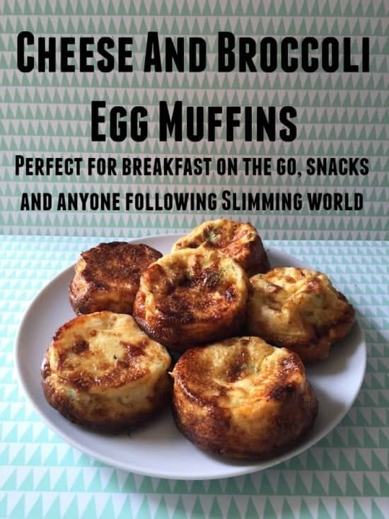 Cheesey Broccoli Egg Muffins