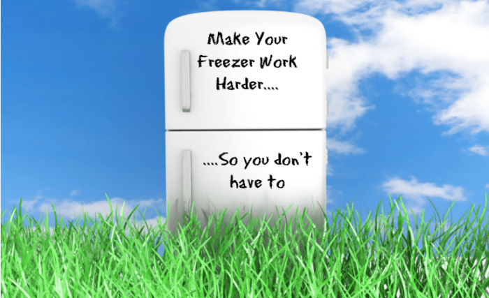 Make your freezer work harder