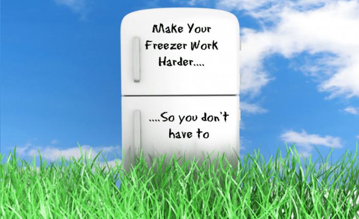 Make your freezer work harder