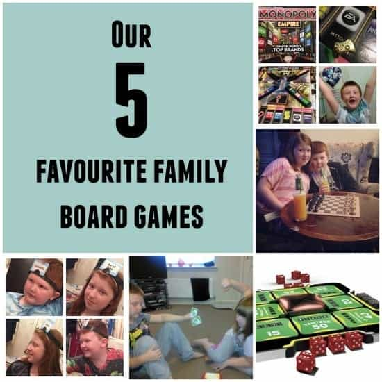 our 5 favourite family board games