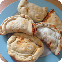 Cooking with Kids - Pizza Calzones....