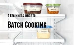 Guide to batch cooking