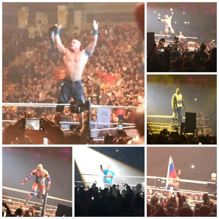 WWE Live at Newcastle....