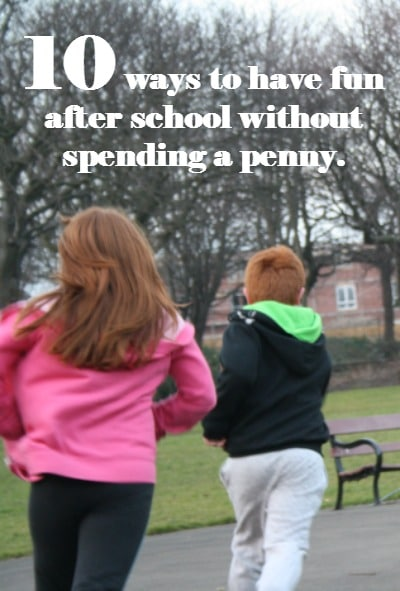 10 ways to have fun after school without spending a penny Pinterest