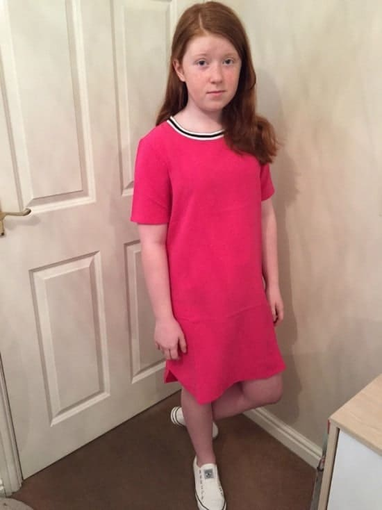 New look dress and shoes