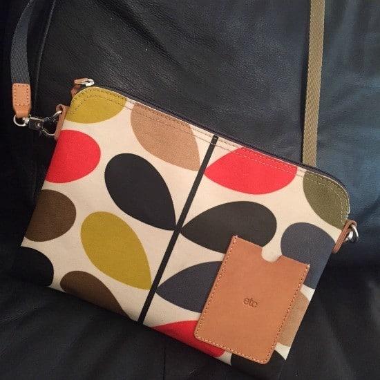 Orla Kiely travel bag