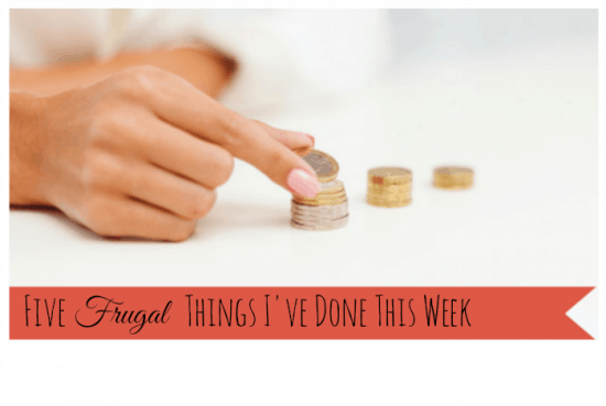 new five frugal things