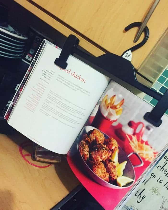 Do you like my recipe book holder?