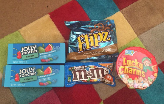 Bargain American sweets from B&M