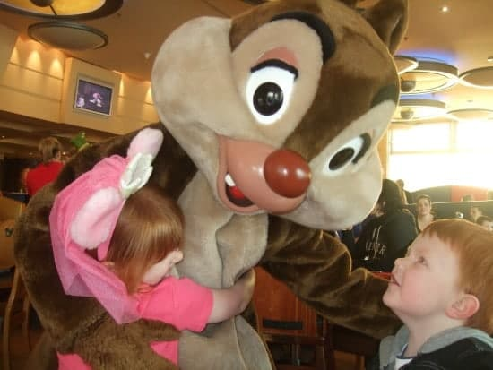 Giving Chip (or Dale) a big hug....