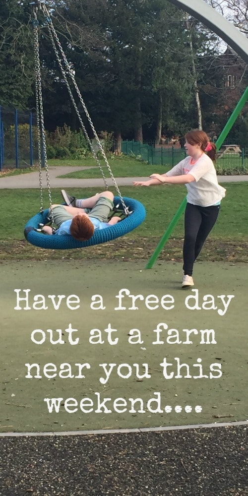 Have a free day out at a farm near you this weekend...