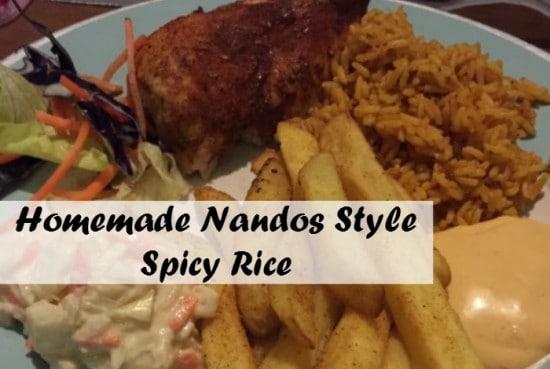 Homemade Nandos Spicy Rice