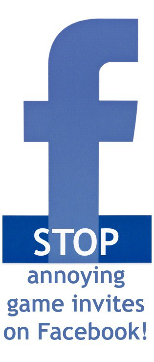 How to STOP annoying game invites on Facebook in less than 20 seconds!