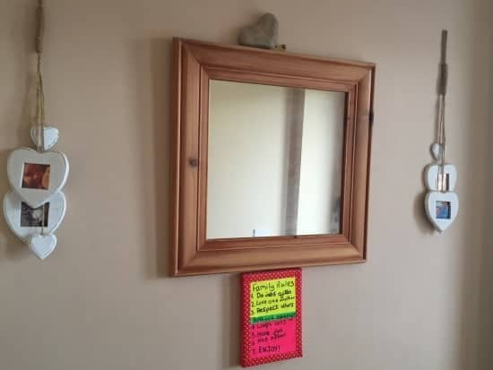 Sanded down Mirror