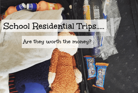 School Residential Trips.....Are they worth the money