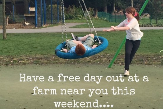have a free day out at a farm near you this weekend
