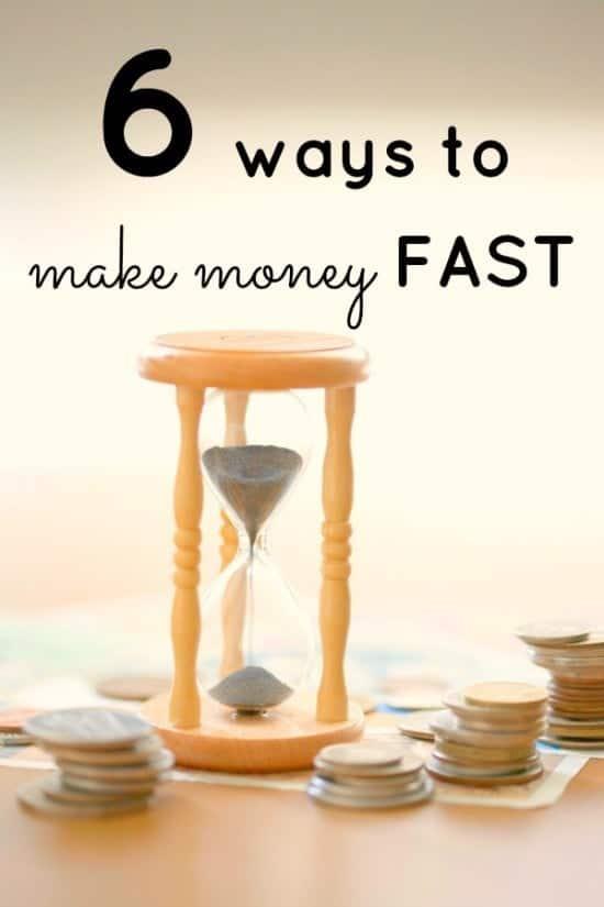 6 ways to make money FAST