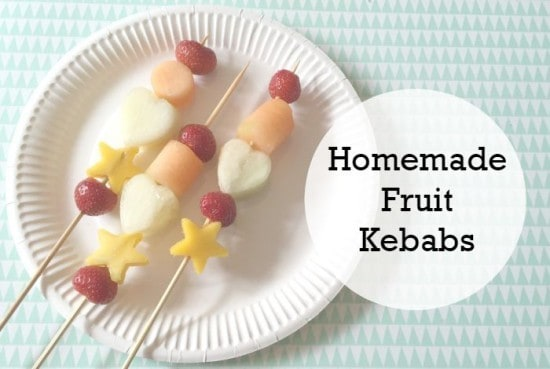Homemade Fruit Kebabs