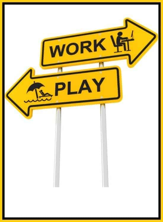 How to maintain a happy work-life balance when the kids are off school and you're at work....