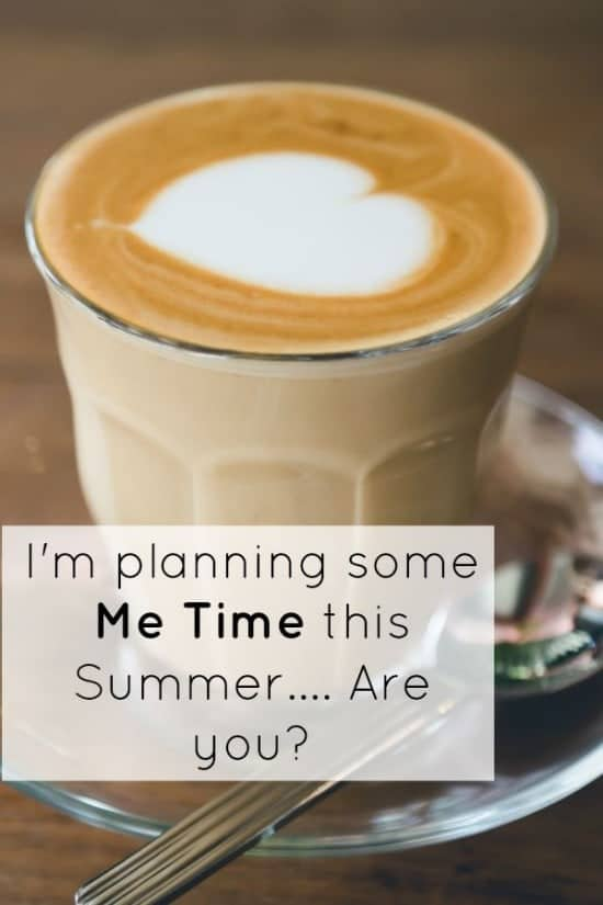 I'm planning some Me time this Summer.... Are you
